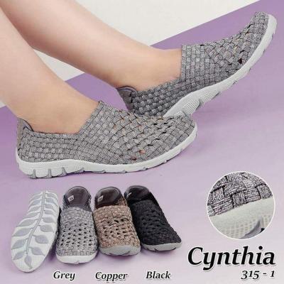 081318197899 Agen Sepatu Anyam Cynthia Flat 315-1