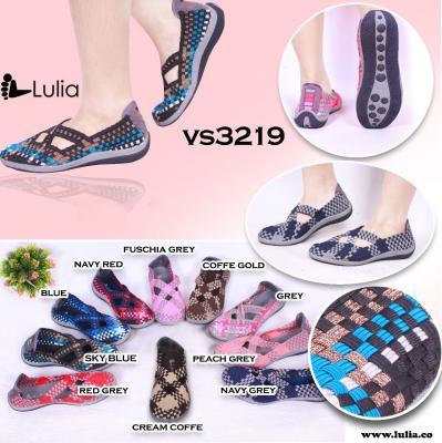 Sepatu Anyam Lulia Flat VS3219
