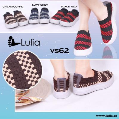 Sepatu Anyam Lulia Wedges VS62